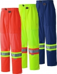HI-VIZ SAFETY TRAFFIC PANT